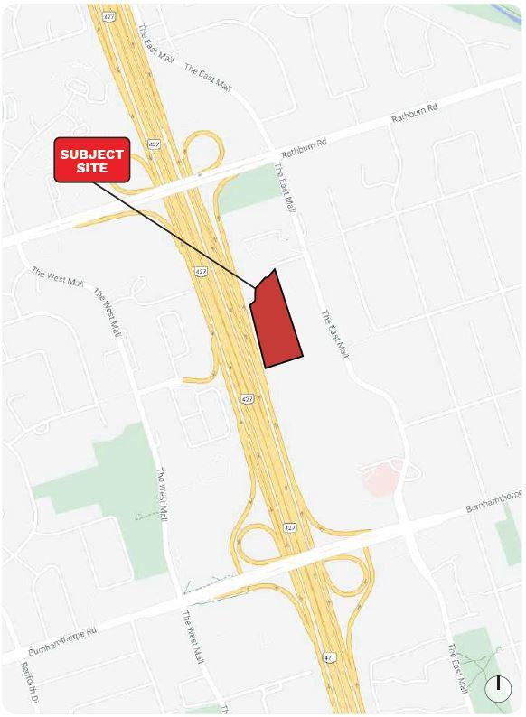 Location of 5 Capri Road, Etobicoke, Toronto, designed by BDP Quadrangle for Tenblock
