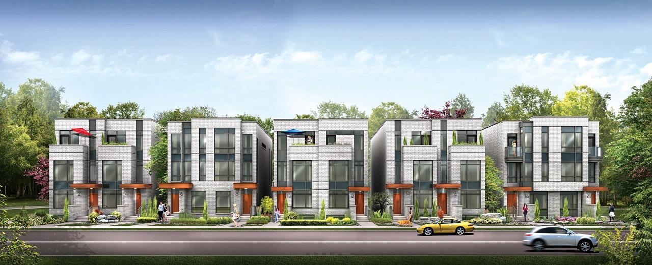 St. Clair Village, Toronto, Frontdoor Developments, Hunt Design Associates