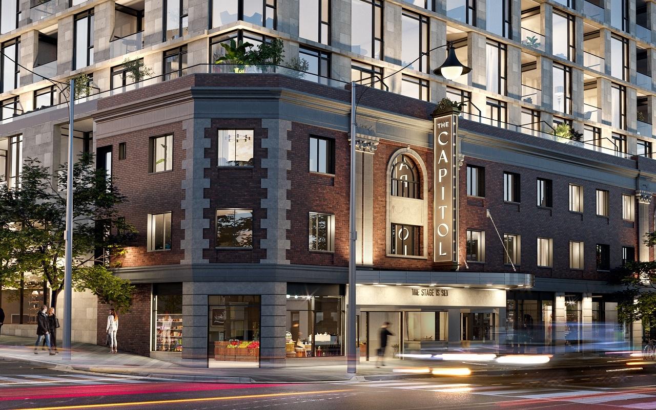 The Capitol, Yonge Street, Toronto, Madison, Westdale, Turner Fleischer, Hariri Pontarini, Studio Munge
