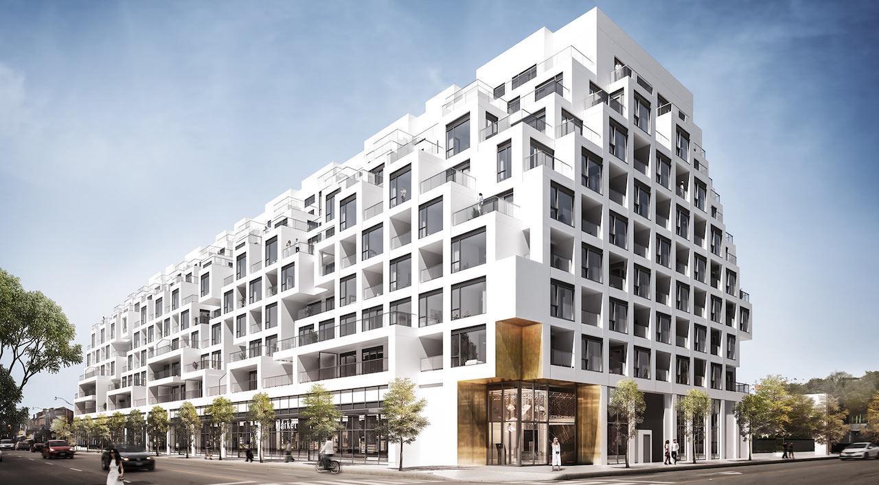 Bianca, Tridel, Teeple Architects, Dupont, Toronto