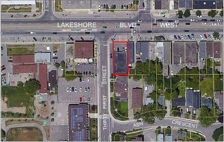 Satellite View of 3471 Lake Shore Blvd, Toronto