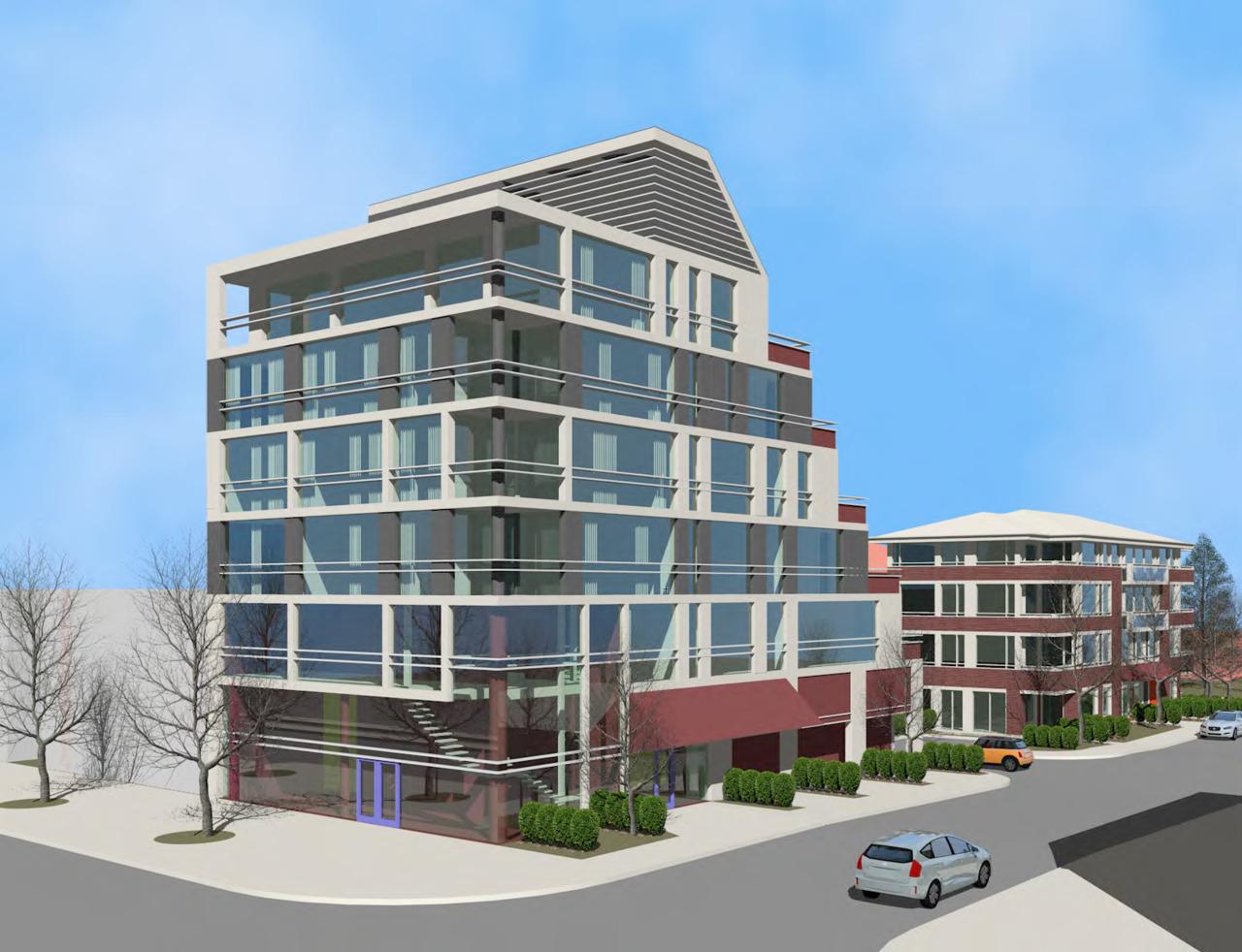 3471 Lake Shore Boulevard West, Toronto, designed by Keith McAlpine Architects for Petrogold