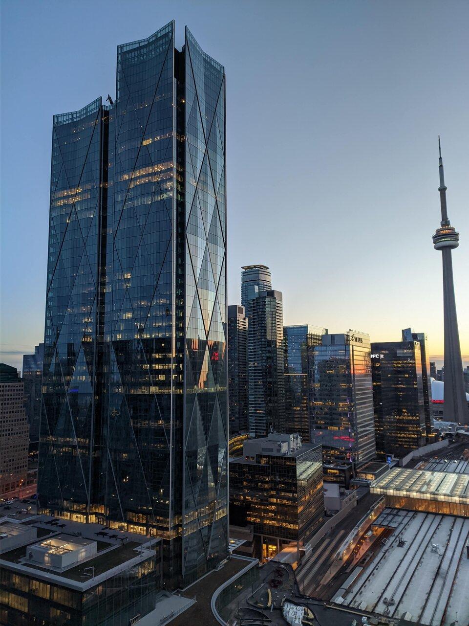 Daily Photo, Toronto, skyline, Downtown, CIBC SQUARE