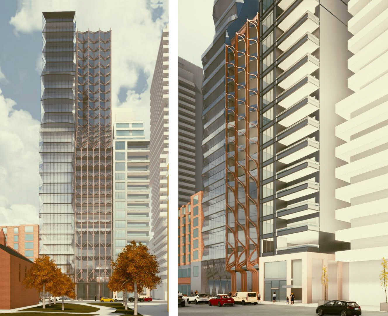 208 Bloor West, Toronto, designed by BDP Quadrangle for Plaza Partners