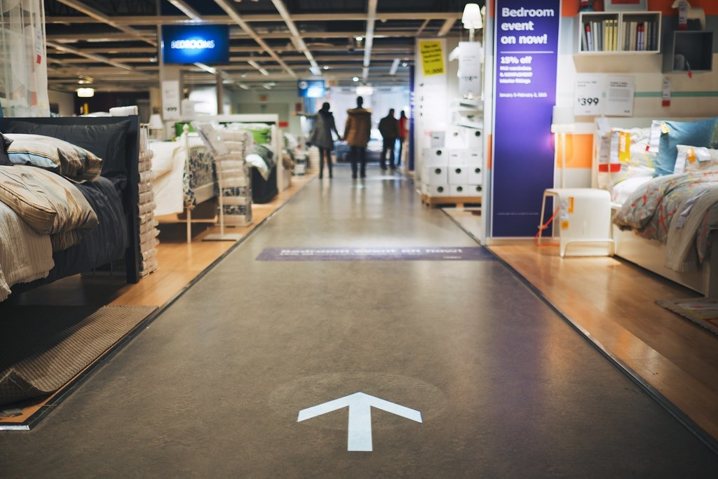 This way to the bedrooms, IKEA, by Jason Cook, ©cookedphotos, via UrbanToronto's Flickr Pool.