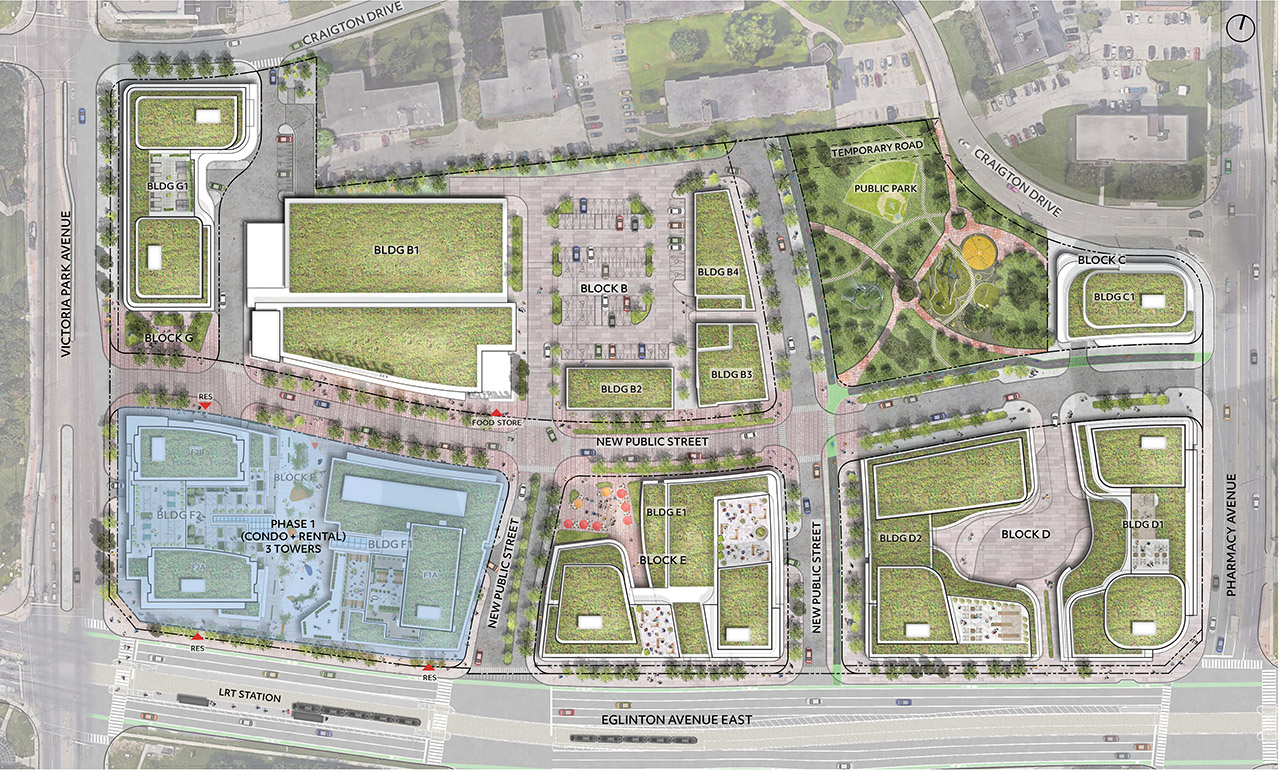 Golden Mile Shopping Centre, Daniels, Choice REIT, Giannone Petricone Associates, Toronto