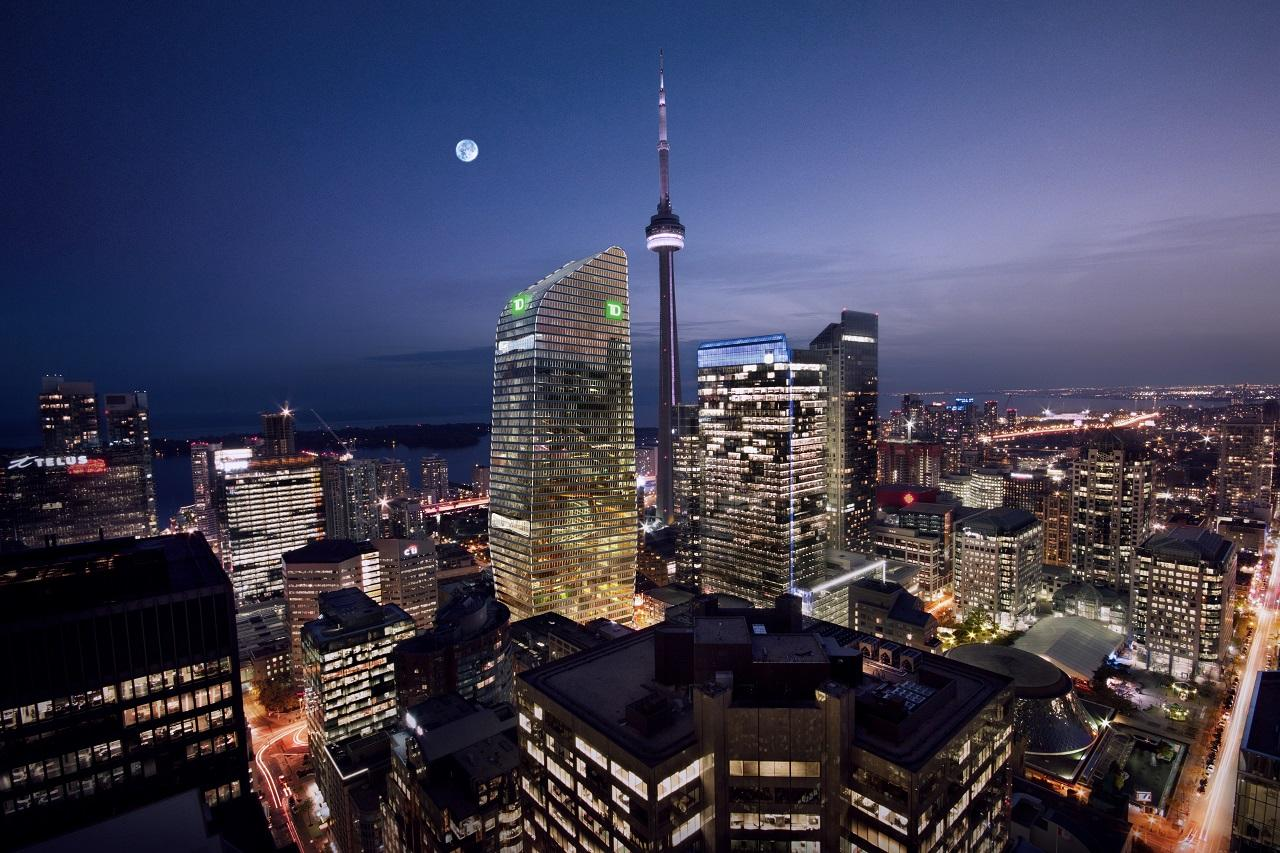 160 Front West, Cadillac Fairview, AS+GG Architecture, B+H, Toronto
