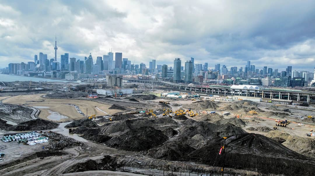 Daily Photo, Toronto, skyline, Downtown, Don River mouth, Port Lands