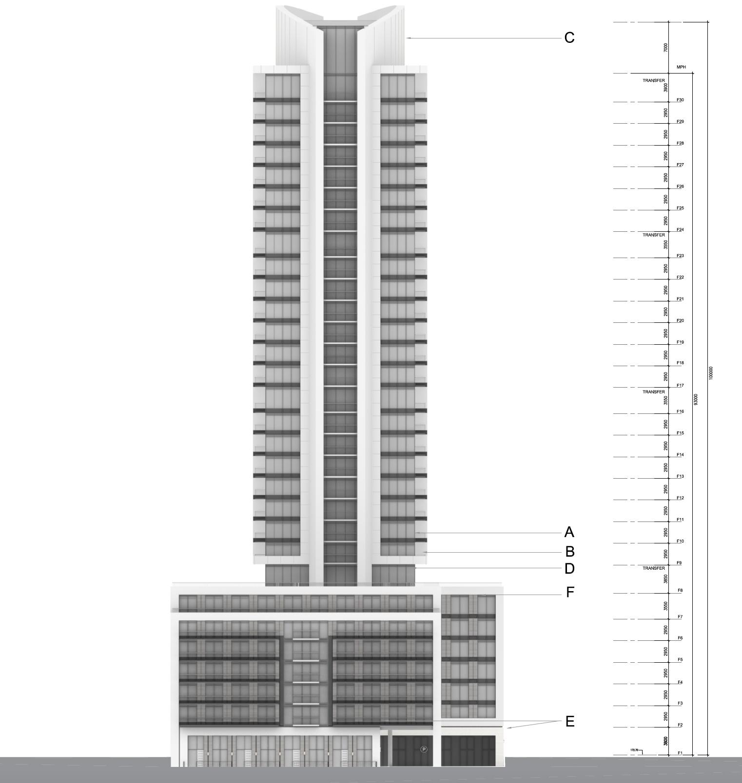 1812 Eglington Avenue W, Toronto, designed by IBI Group for DMJ Eglinton Development Corporation