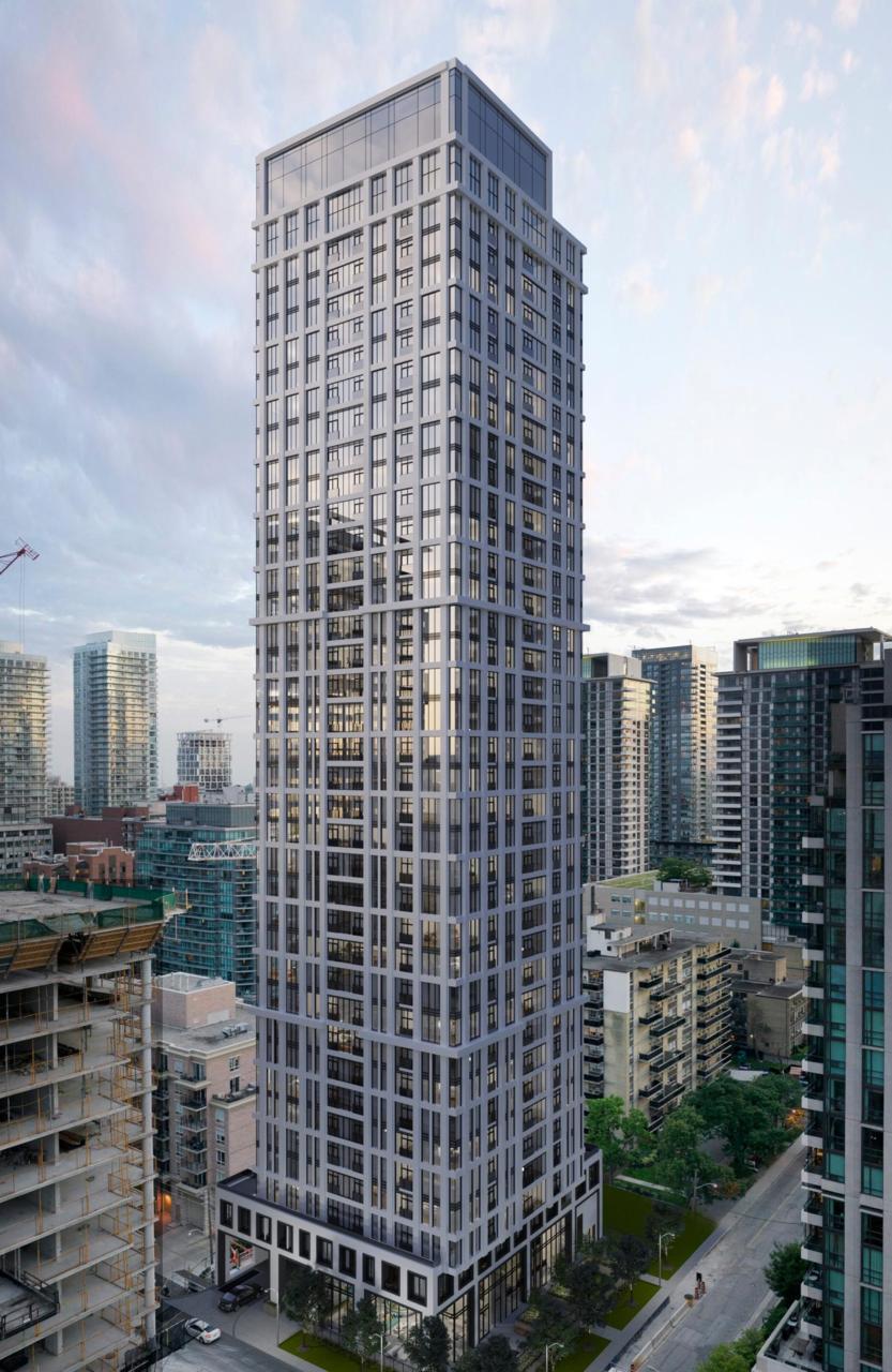 The Parker, Toronto, designed by Graziani + Corazza Architects for Fitzrovia Real Estate