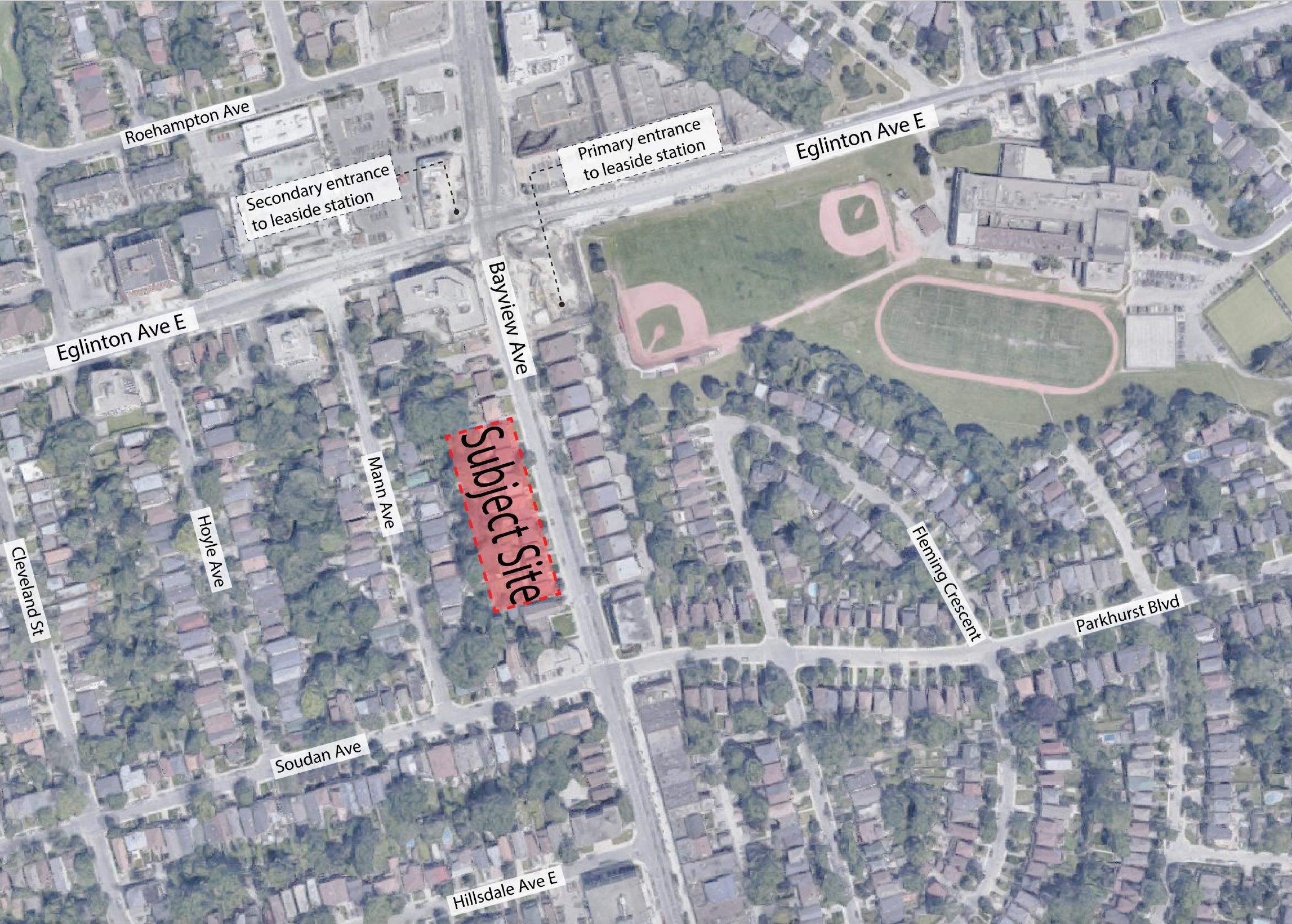 1718 Bayview Avenue, Toronto, designed by BDP Quadrangle Limited for Gairloch Developments