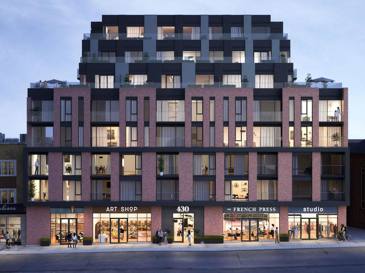 The Roncy, Worsley Urban Partners, RAW Design, Toronto