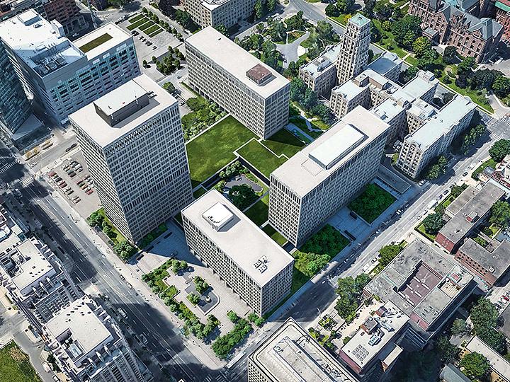 Macdonald Block reconstruction, Infrastructure Ontario, PCL, WZMH Architects, Toronto