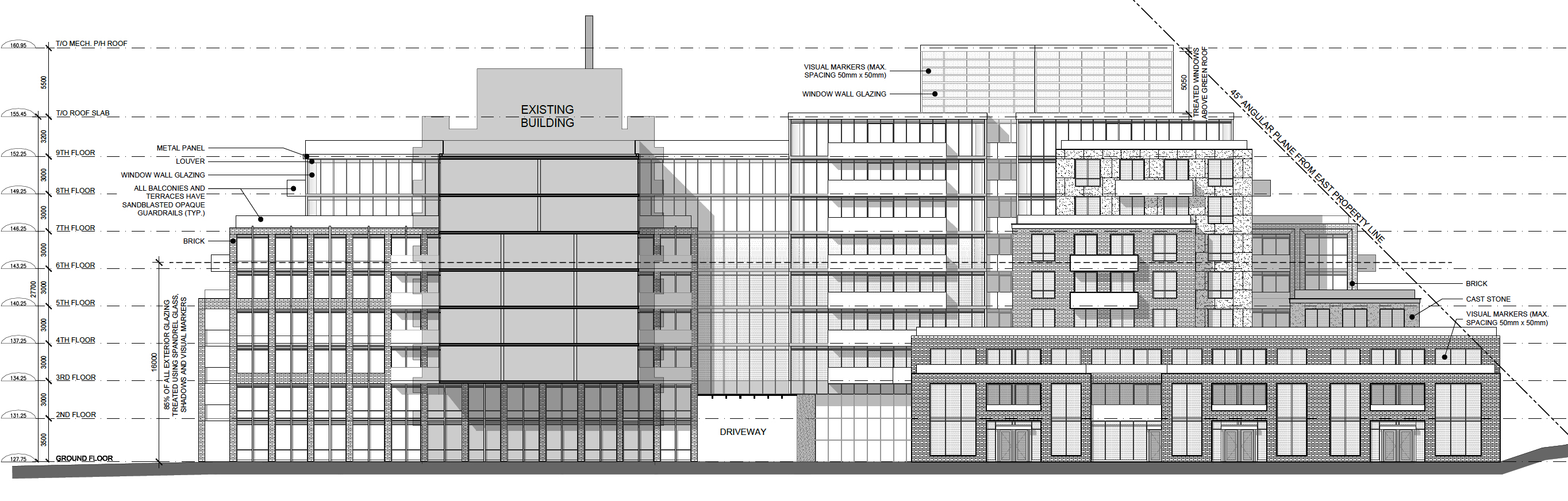 240 Markland Drive, Toronto, designed by IBI Group for Carttera Private Equities.