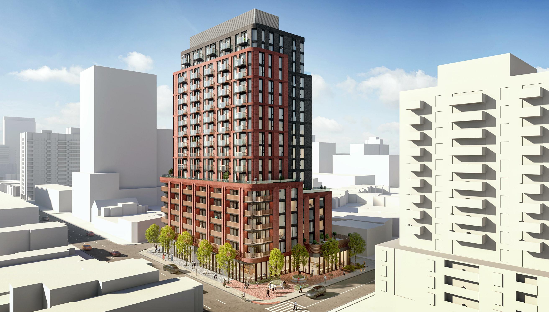 1425 Bloor Street West, Toronto, designed by BDP Quadrangle Limited for KingSett Capital.