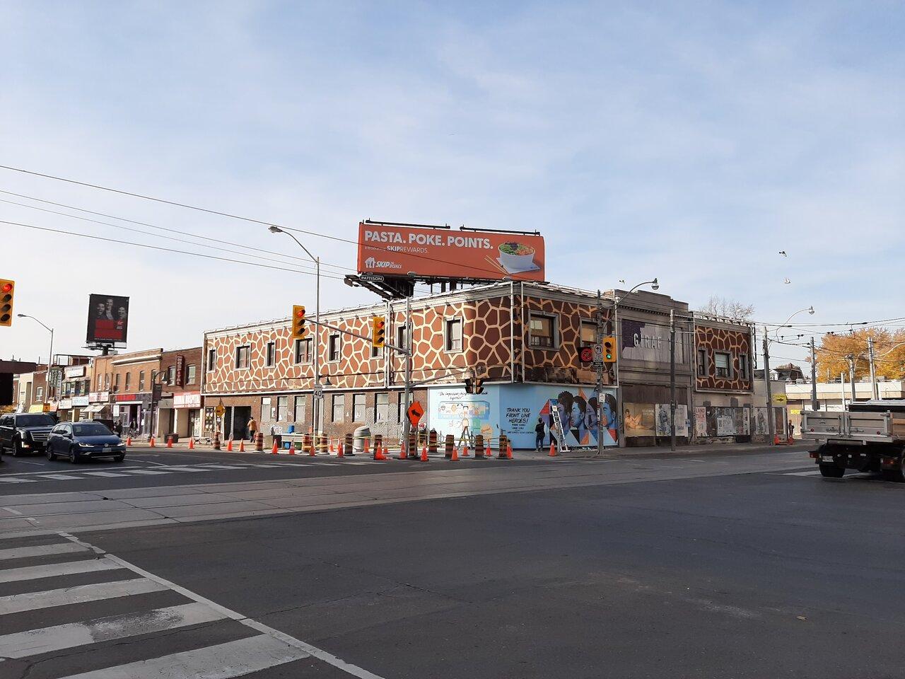 1540 Bloor West, Toronto, existing view