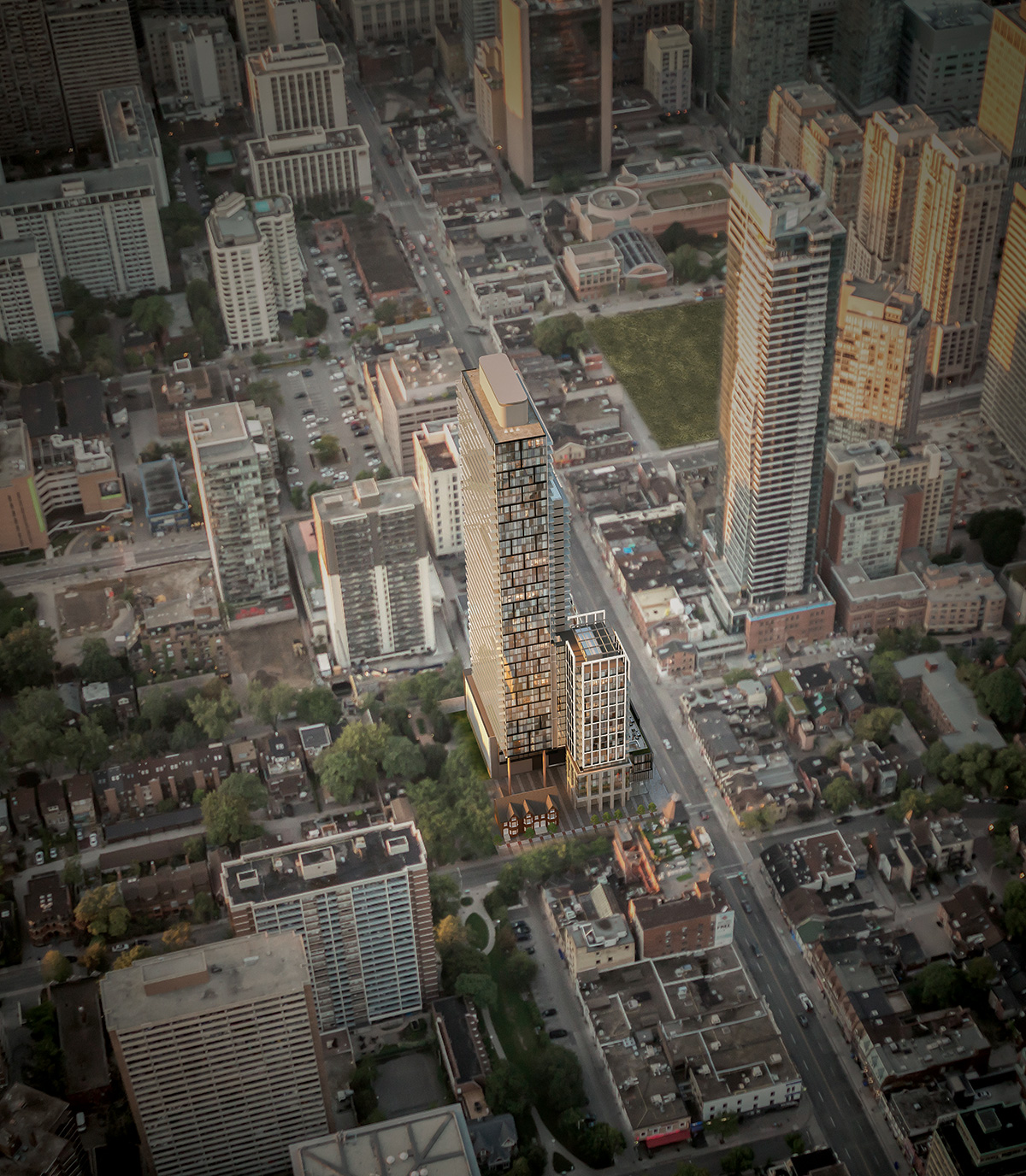 The Gloucester on Yonge, architects—Alliance, Concord Adex, Toronto