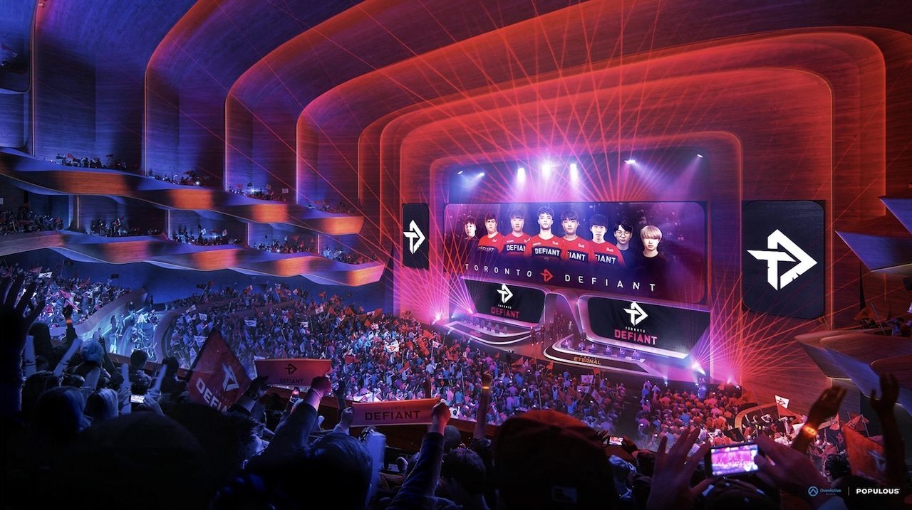Esports Performance Venue and Hotel, OverActive Media, Populous, Toronto, Exhibition Place, Hotel X Phase 2