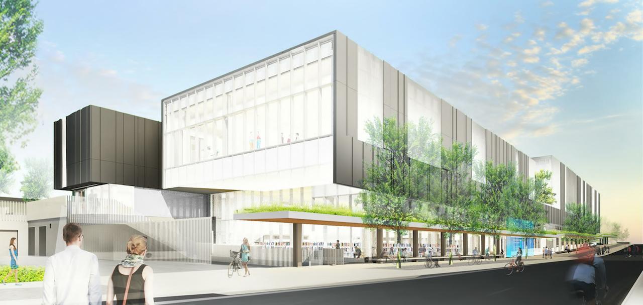 Bessarion Community Centre, Concord Park Place, Toronto, MacLennan Jaunkalns Miller Architects, MJMA