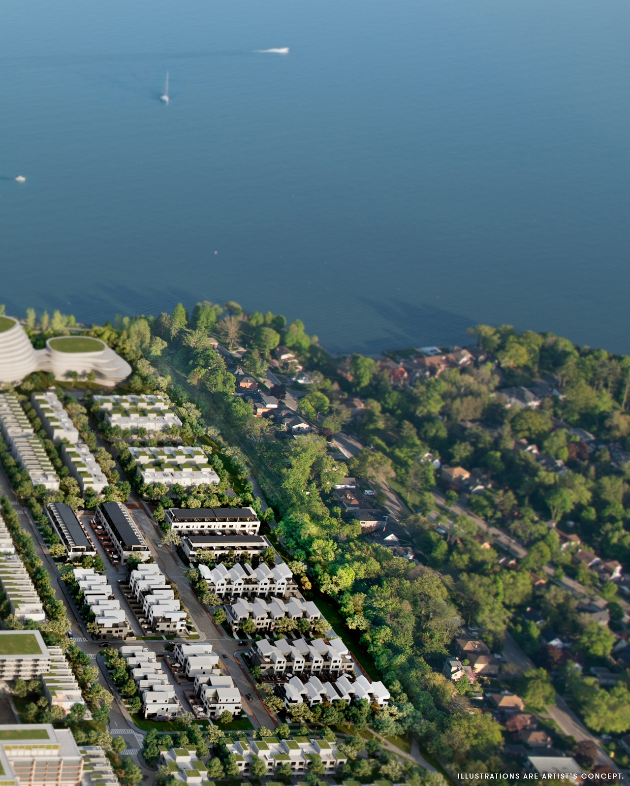 Brightwater Towns, Port Credit West Village Partners, Mississauga, superkül, Truong Ly Design
