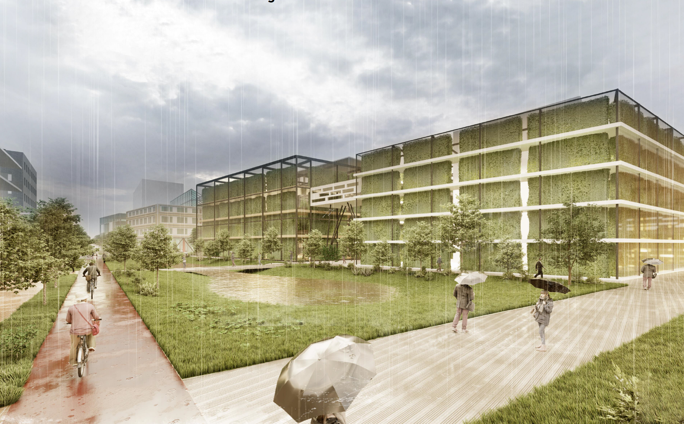 Winning proposal for Kansas City, designed by Fusion team for ULI Hines Competition.