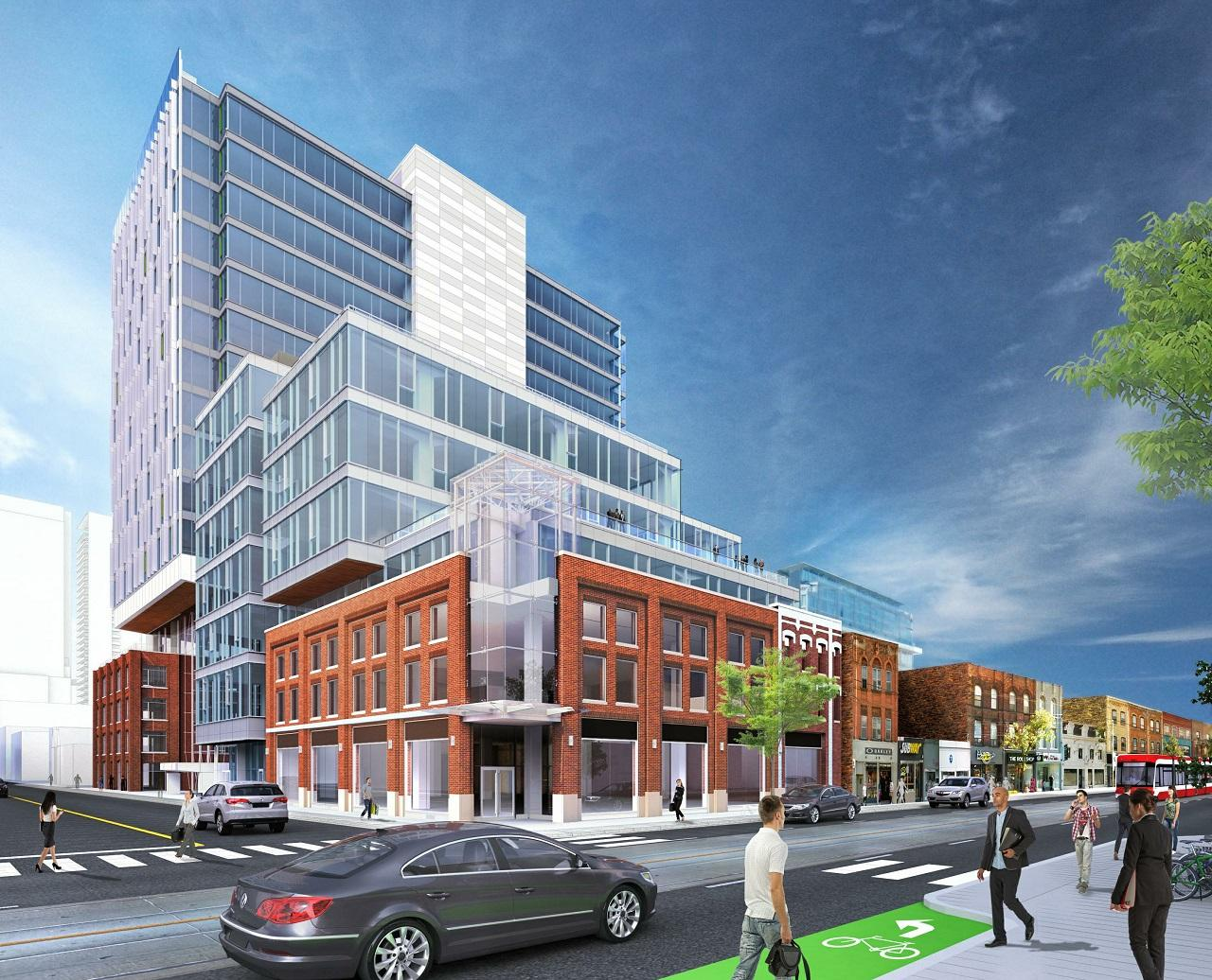 QRC West Phase 2, Allied Properties REIT, Sweeny &Co Architects Inc, Toronto