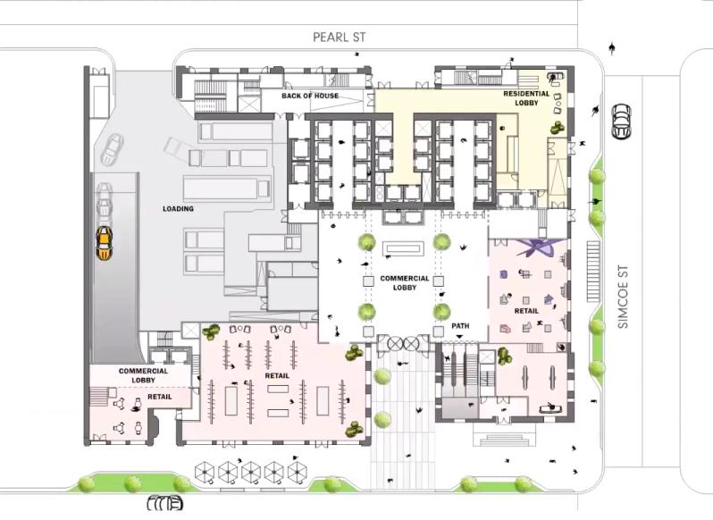 212 King Street West, Dream, Humbold Properties, SHoP Architects, Adamson Associates Architects, Toronto