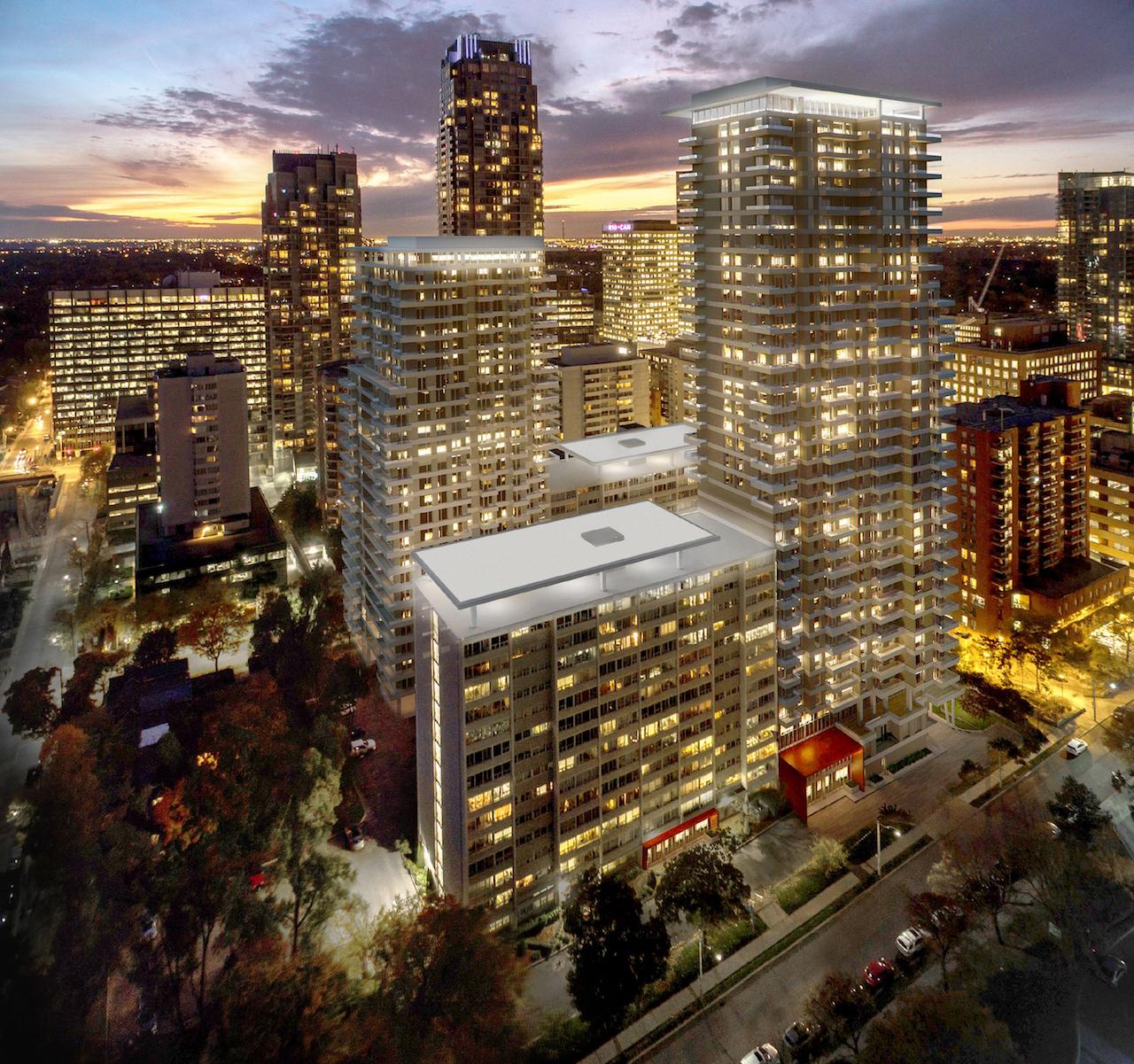 Plaza Midtown, BDP Quadrangle, Toronto, 1233 Yonge Street, 9 Woodlawn Avenue