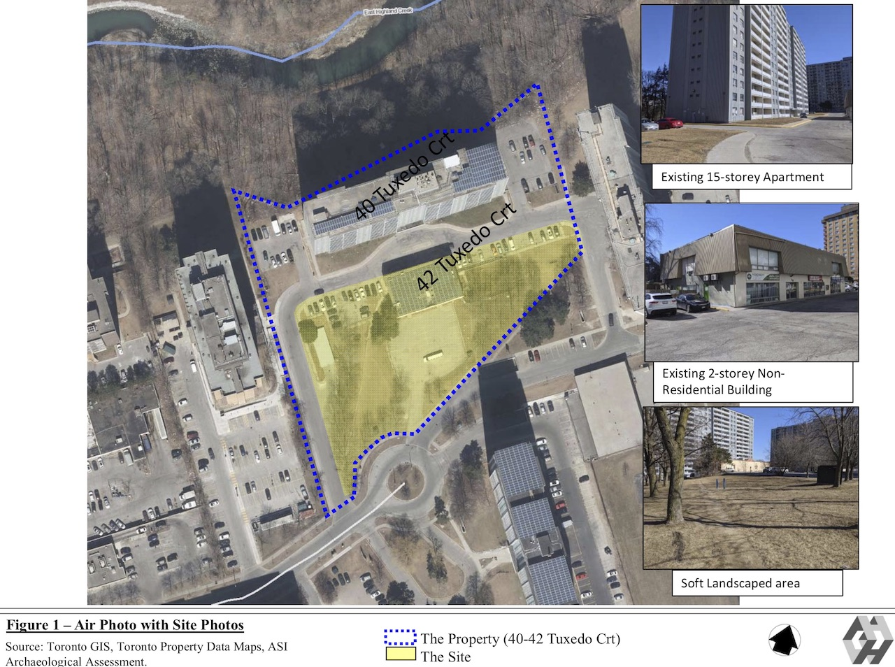 Site Condition, 42 Tuxedo Court, Toronto, designed by IBI Group for Reserve Properties