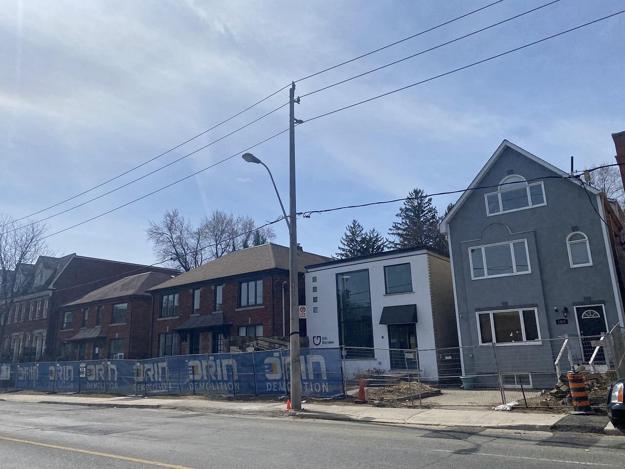 1414 Bayview, Gairloch Developments, architects—Alliance, Toronto