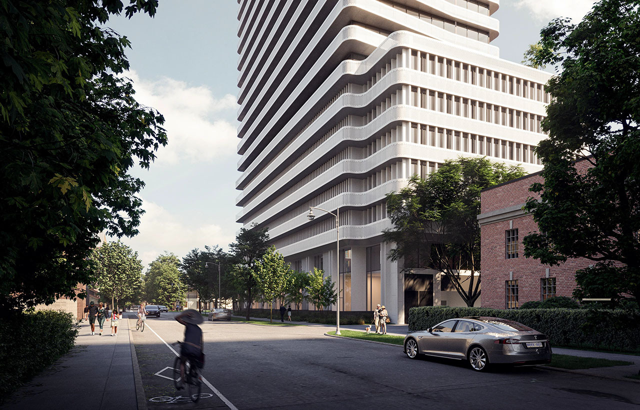 145 St George, Toronto, designed by architects—Alliance for Tenblock