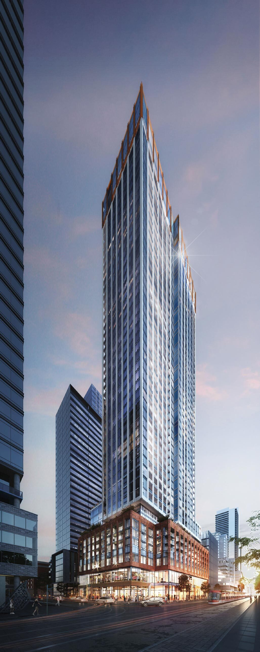 400 King West, Plaza, BDP Quadrangle, U31, Toronto
