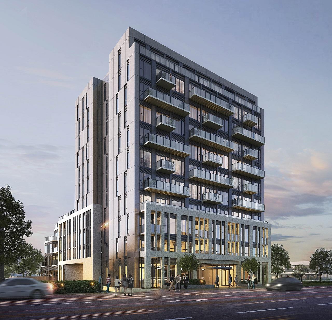 East Pointe Condominiums, Mutual Developments, Kohn, EsQape Design, Toronto
