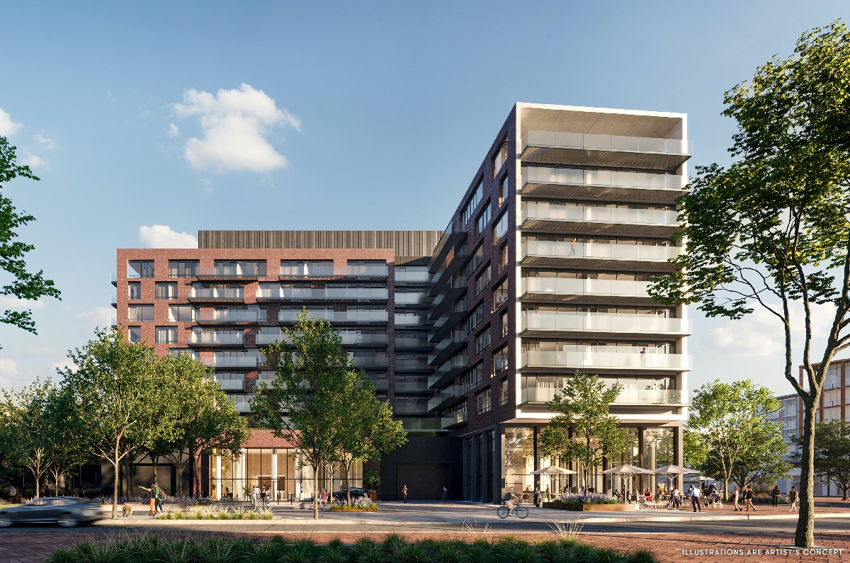 The Mason, Brightwater, Port Credit West Village Partners, architects—Alliance