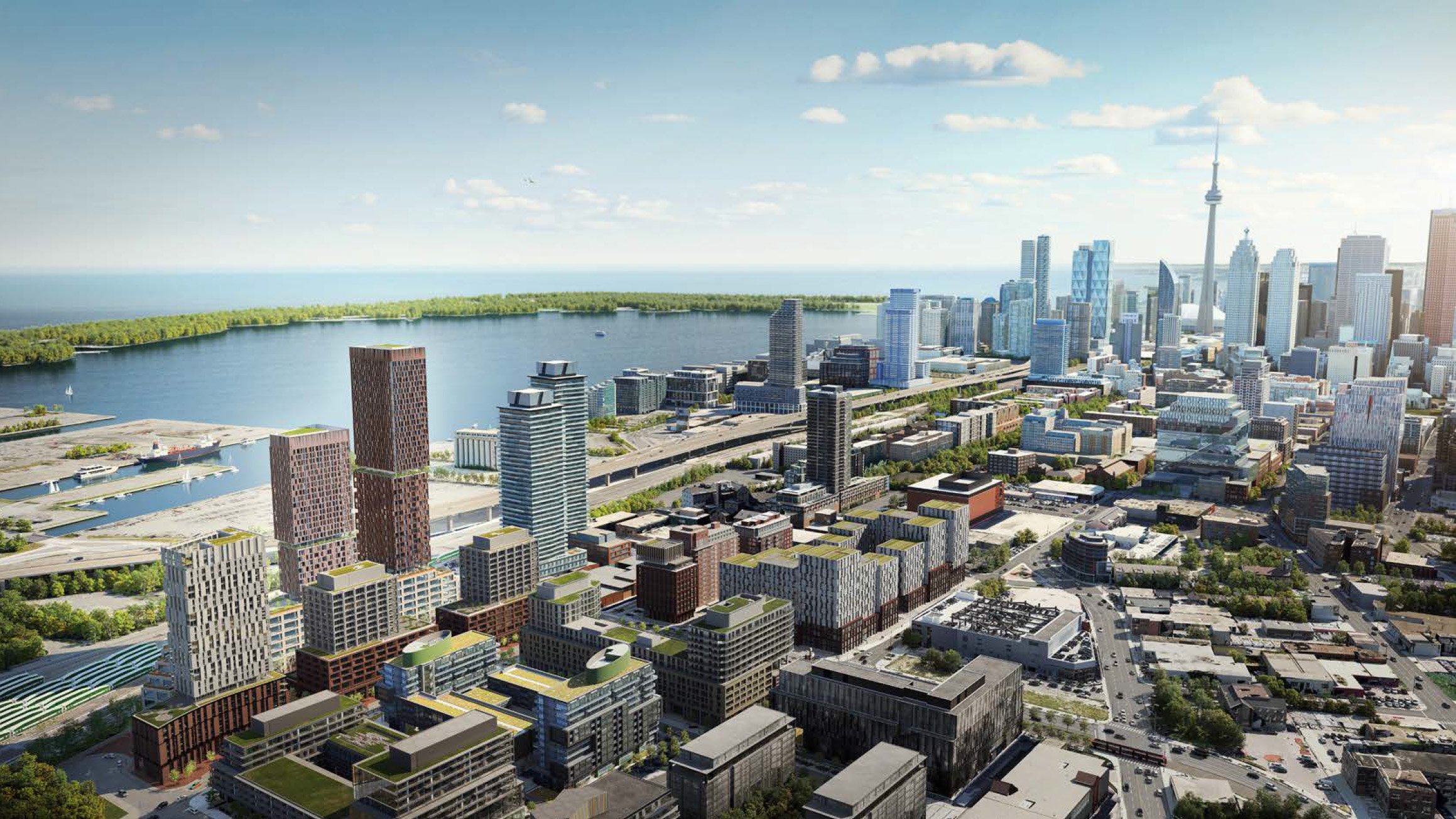 West Don Lands Multi-Use Proposal Includes Two Towers