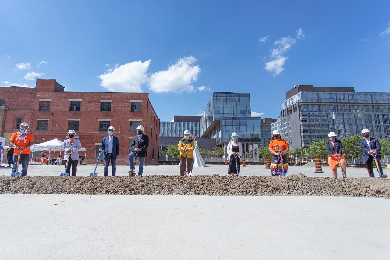West Don Lands Indigenous Hub, Toronto, Block 10, BDP Quadrangle, Anishnawbe Health, Dream, Kilmer, Tricon