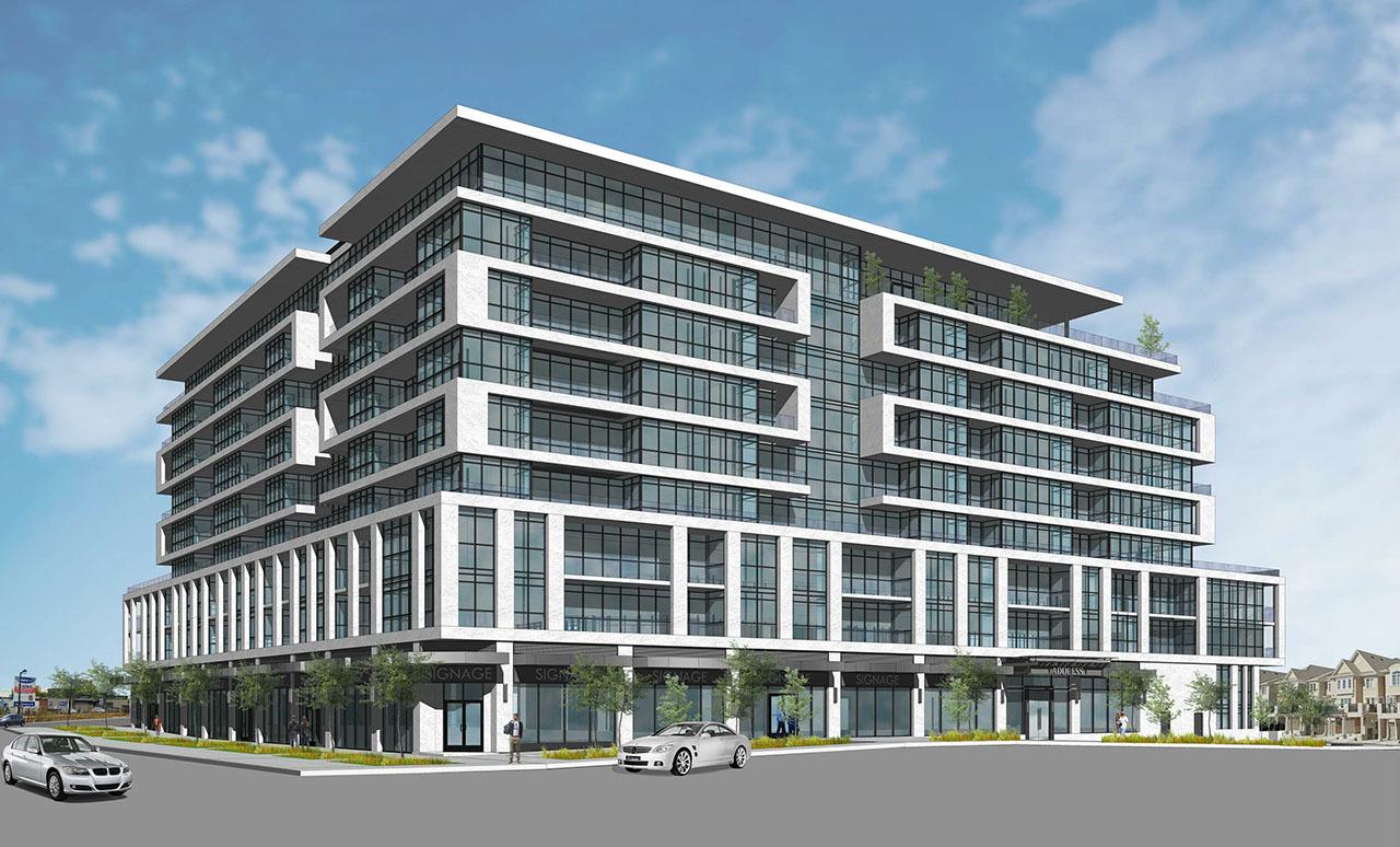 743 Warden, Stafford Developments, Kohn Partnership Architects, IBI Group, Toronto