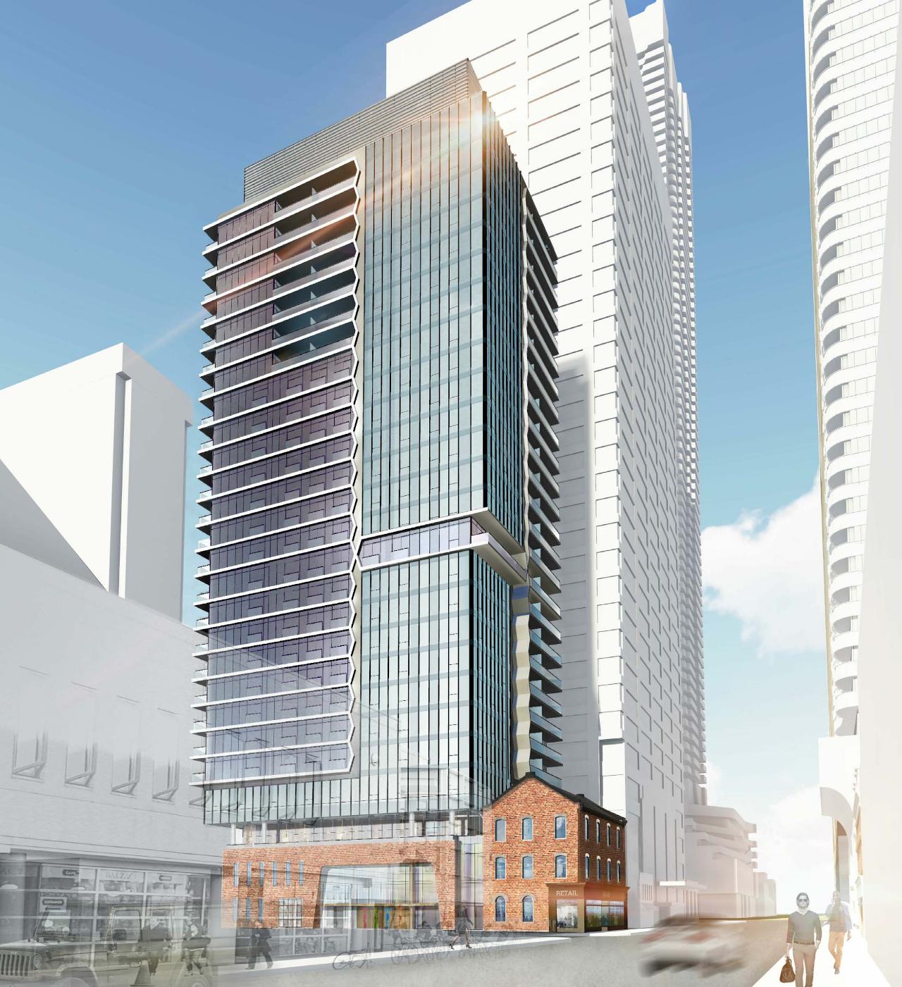 Adagio, 771 Yonge Street, Toronto, Giannone Petricone Associates for Menkes Developments