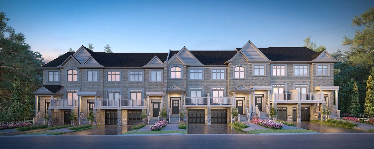King East Estates, Richmond Hill, designed by Architectural Design Inc for Plaza