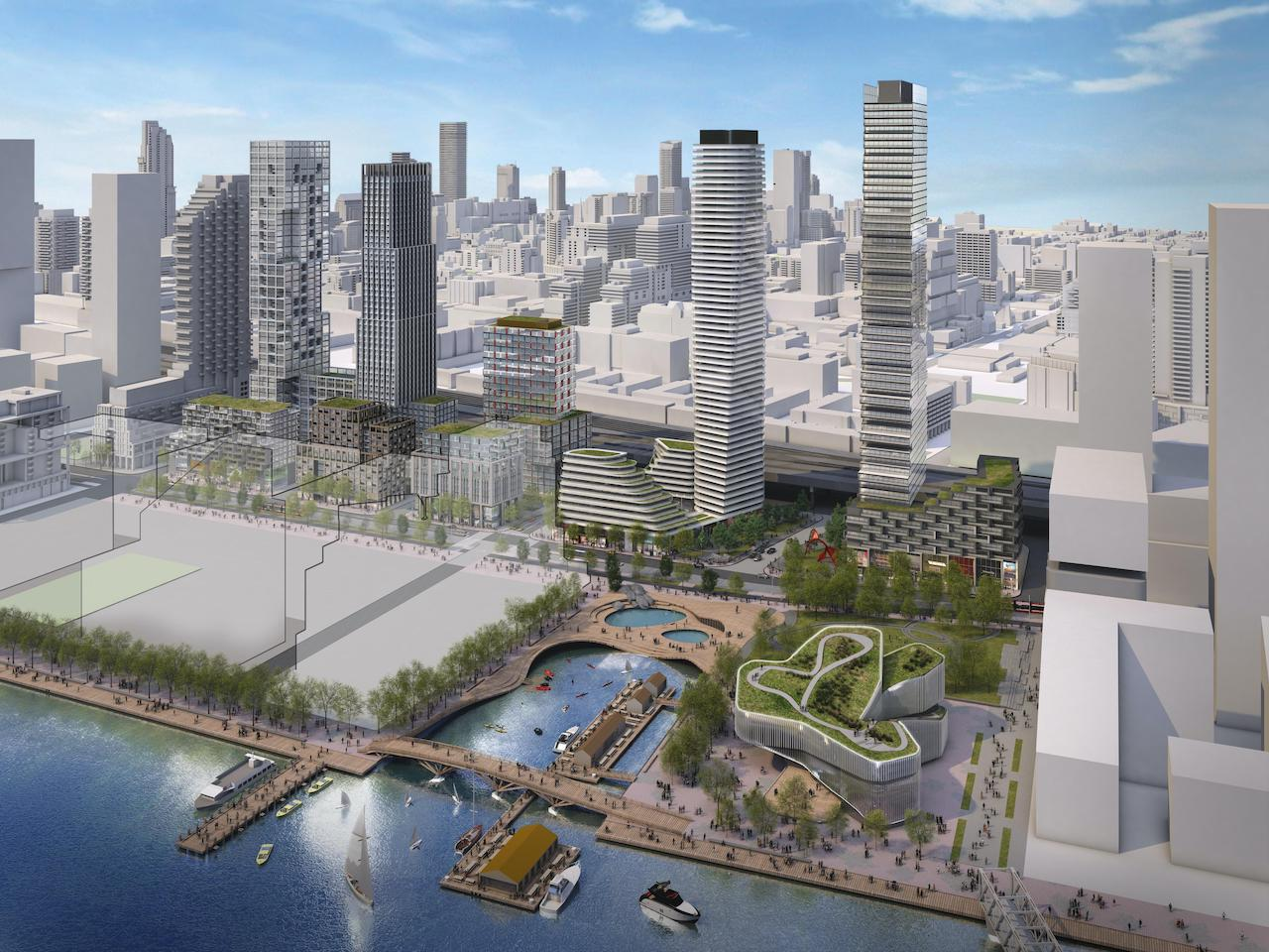 Quayside, Vision rendering by Standard Practice for Waterfront Toronto